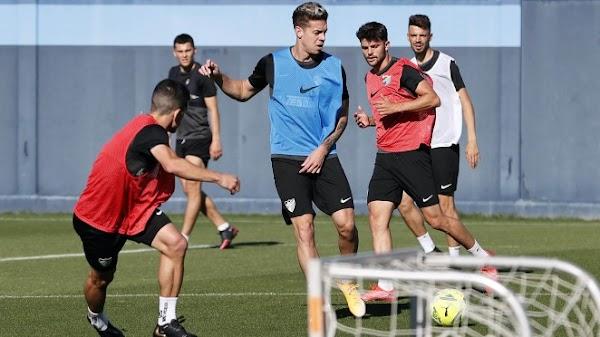 Málaga, se reintegran al grupo Josua Mejías y Jozabed