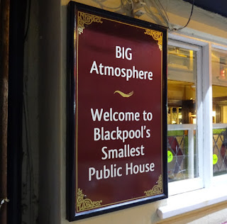 Blackpool's Smallest Pub - The Mitre