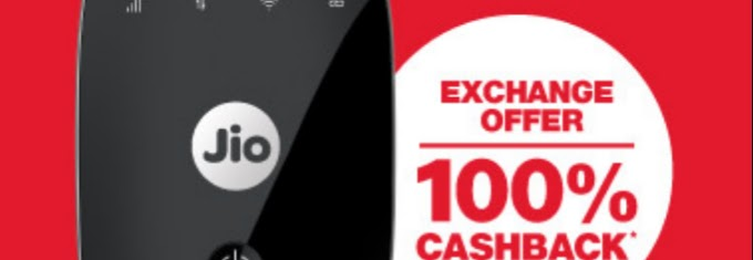 Jio's 100% Cashback Offer :- Step By Step Process To Avail This Offer