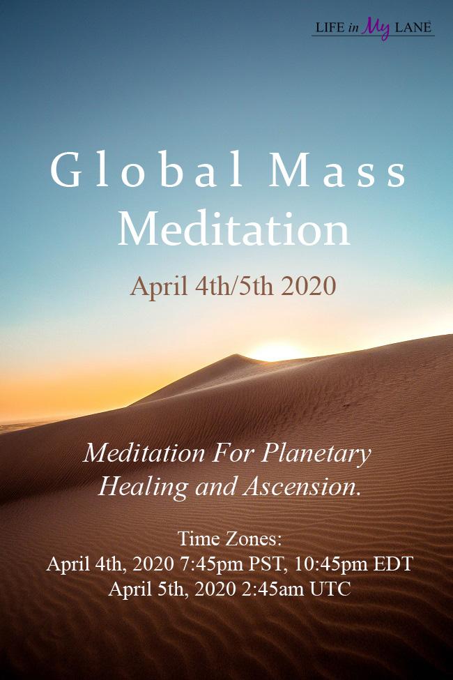 global mass meditation