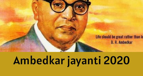 Ambedkar Jayanti Wishes, status and Images download  in Hindi