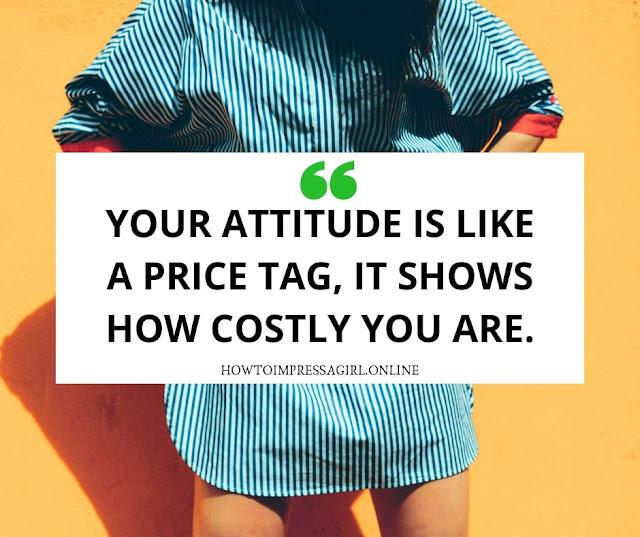 Attitude Status for Boys & Men