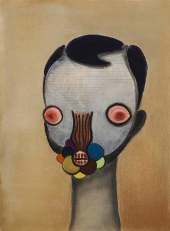Izumi Kato - Untitled - 2011 | imagenes de obras de arte contemporaneo tristes, lindas, de soledad | cuadros, pinturas, oleos, canvas art pictures, sad | kunst | peintures