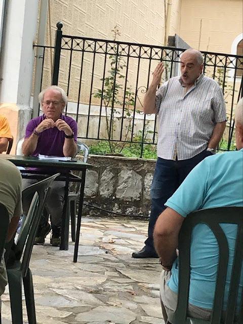 Με επιτυχία πραγματοποιήθηκε στις 2 Αυγούστου 2020 ανοιχτή σύσκεψη/συζήτηση για τα αιολικά