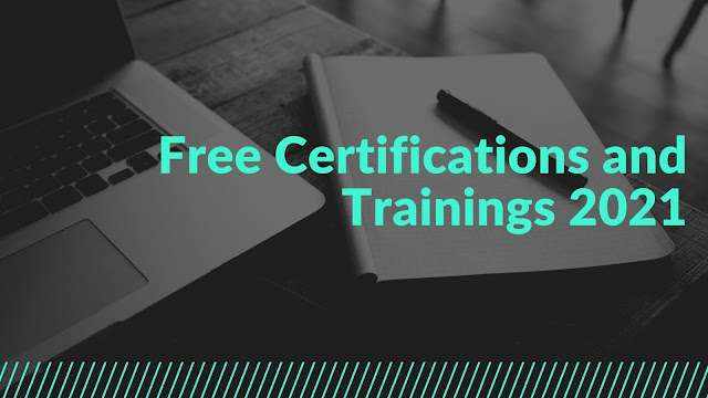Free IT certifications and Trainings 2021 Jaacostan