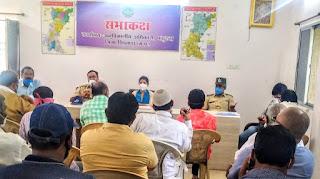 आगामी त्योहारों को देख पांढुर्ना में शांति समिति की बैठक संपन्न
