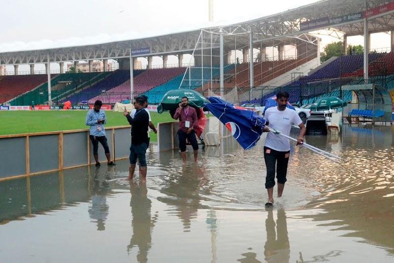 PCB RESCHEDULED 2ND ODI AGAINST SRI-LANKA | HEAVY RAIN HITS KARACHI