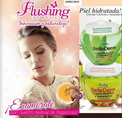 Flushing Cosmeticos junio de 2016