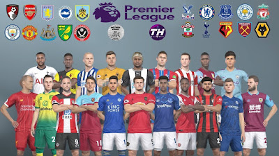 PES 2019 PS4 Option File Premier League 2019/2020 by Thiago PESEditor