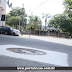 Sabesp começa a nivelar tampões de ruas e avenidas