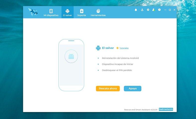 Descargar Rescue and Smart Assistant Tool gratis