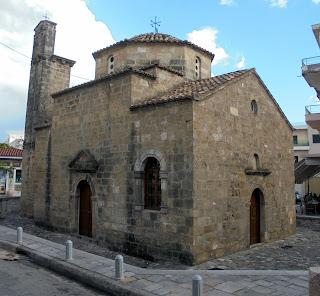 ναός των αγίων Αποστόλων στην Καλαμάτα