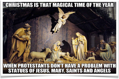 No Excuse For Christmas Idolatry