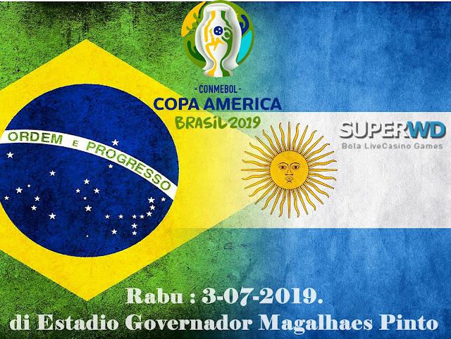 Prediksi Bola Antara Brazil Vs Argentina 3 Juli 2019