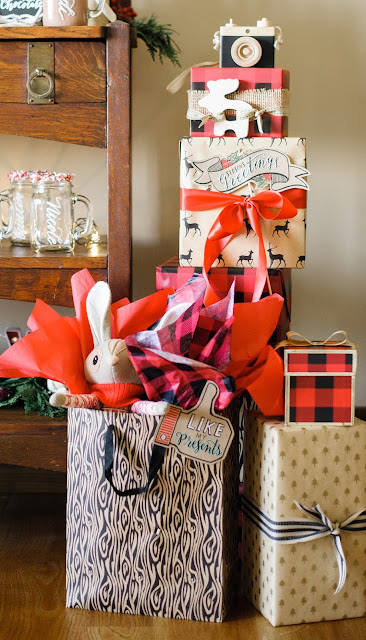 holiday entertaining inspiration: hot chocolate and sweets bar   creativebag.com