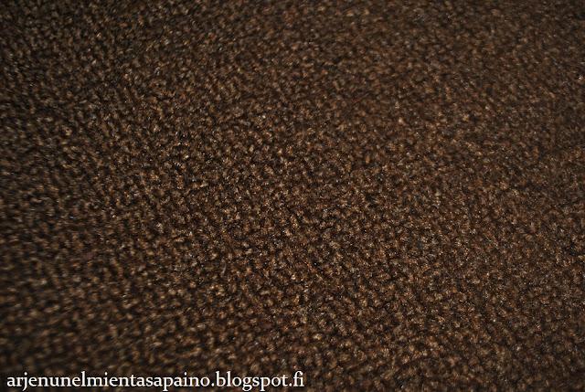 matto, pyöreä, pieni, ruskea