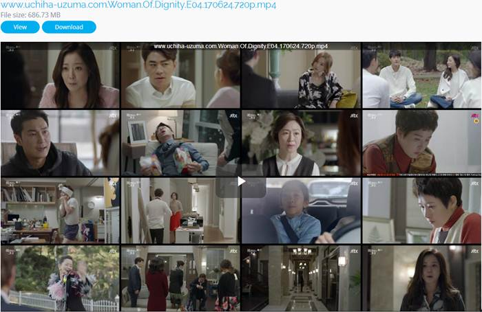 Screenshots Woman of Dignity Episode 04 720p 480p 360p MP4 Free Full Movie Drama Korea Subtitle English - Indonesia