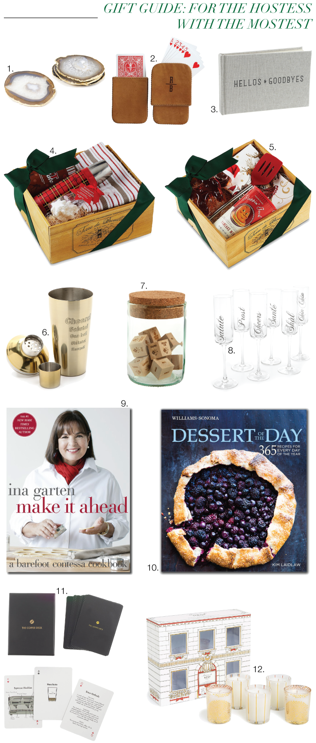 Christmas & Holiday Gift Guide: For the Hostess with the Mostest // A Style Caddy