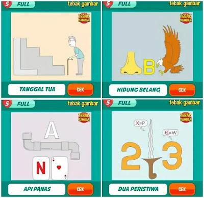Jawaban tebak gambar level 14 nomor 1-4