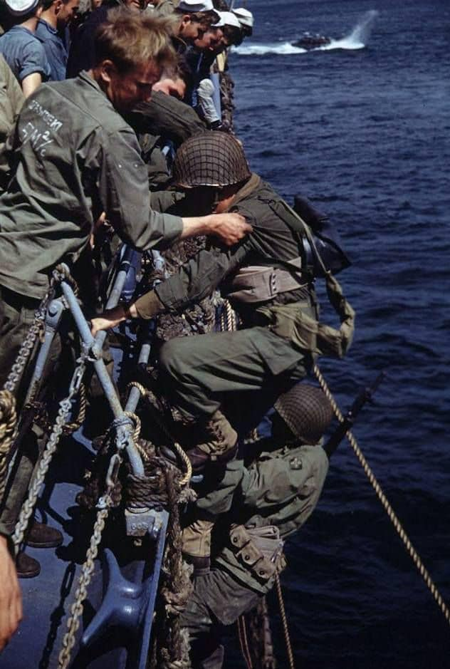 World War II in Color: U.S. 4th Infantry Division in Normandy