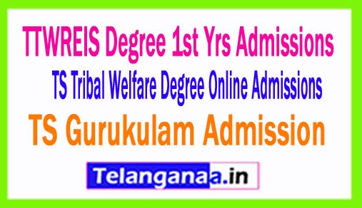 How to fill TTWREIS Degree 1st year admissions Online application form 2018(TsTwreis)
