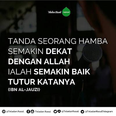 mutiara islam dengan tutur kata yang baik