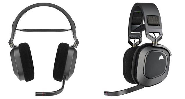 Design Headset Gaming Corsair HS80 RGB Wireless