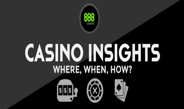 Casino Insights – Where? When? How? #infographic