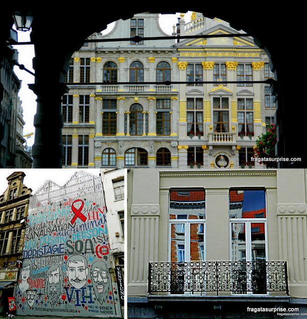 Arquitetura em Bruxelas: Barroco, grafite e art nouveau