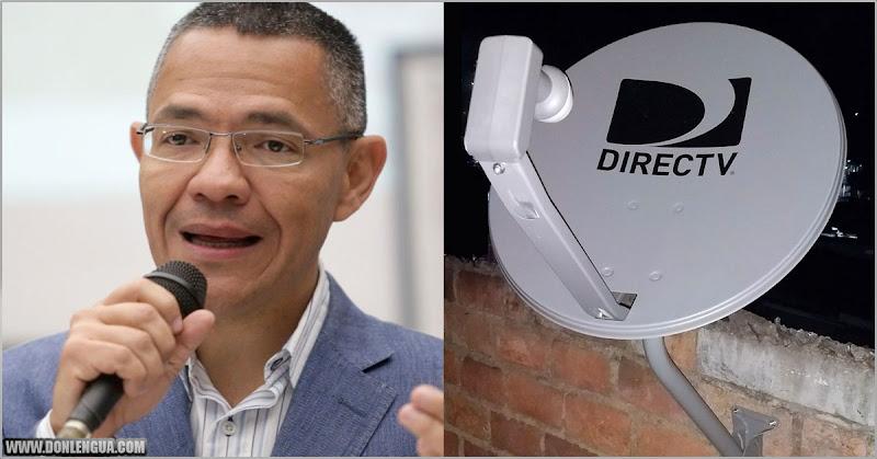 Ernesto Villegas asegura que la gente que ahora no ve DirecTV podrá leer libros