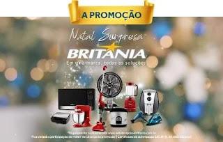 Cadastrar Promoção Natal Surpresa Britânia Concorra Prêmios