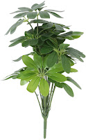 Fourwalls Miniature PVC Artificial Plant without pot (18 Leaves, 70 cm, Green): Amazon.in: Home & Kitchen.