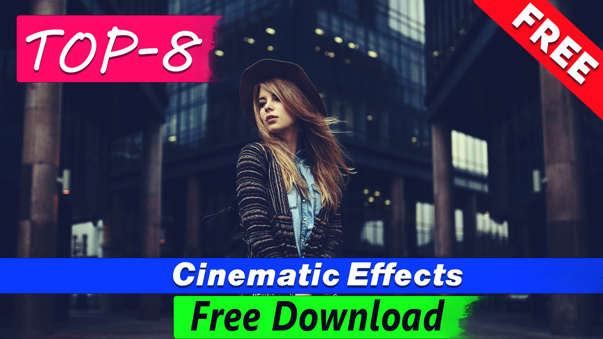 Cinematic Effects Photoshop actions