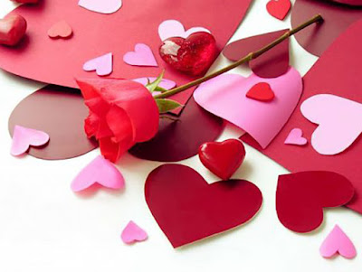 قلوب وورده جميلة جداً