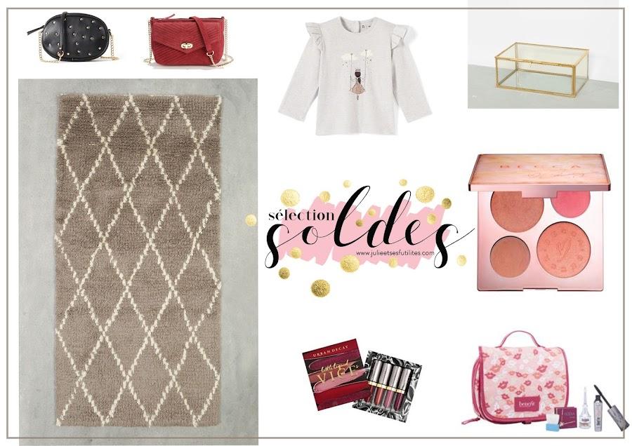 Ma sélection shopping Mode, Beauté, Bébé et déco spéciale SOLDES !