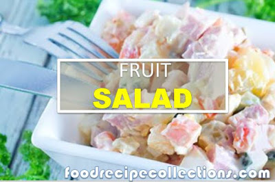 Fruit Salad With Yogurt And Cream Cheese