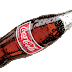 Bombero apaga un incendio con una botella de Coca Cola