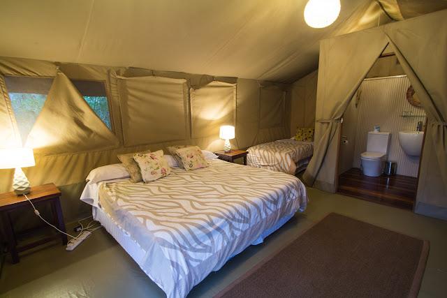 Alojamiento en hotel Wildebeest Eco camp en Nairobi