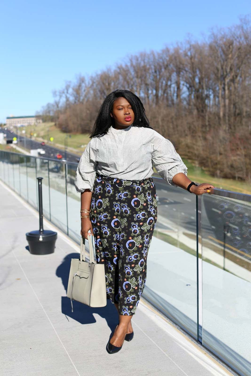 HOW TO WEAR PRINTED PANTS  PLUS SIZE