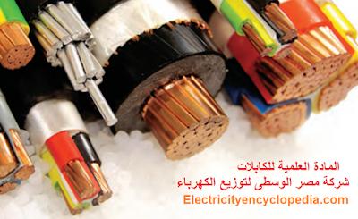 المادة العلمية للكابلات من شركة مصر الوسطى لتوزيع الكهرباء