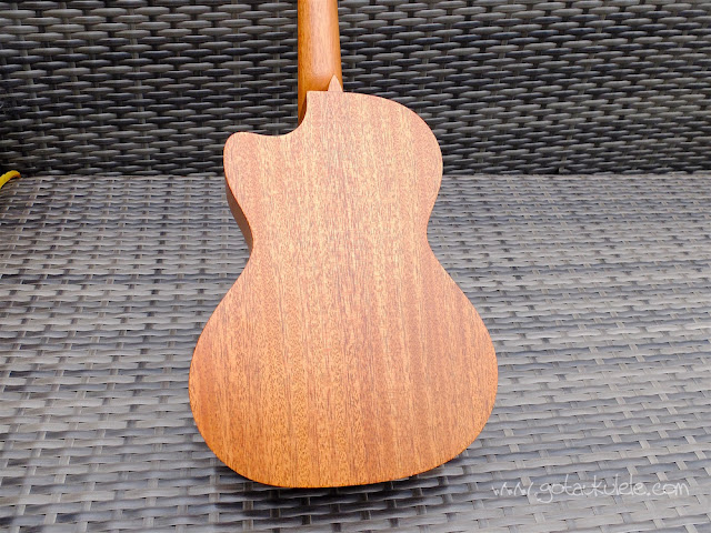 Cordoba 20TM-CE Tenor Ukulele back