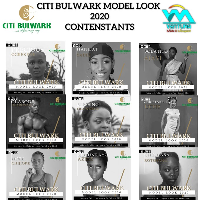 Meet CiTi Bulwark Model Look 2020 Contestants