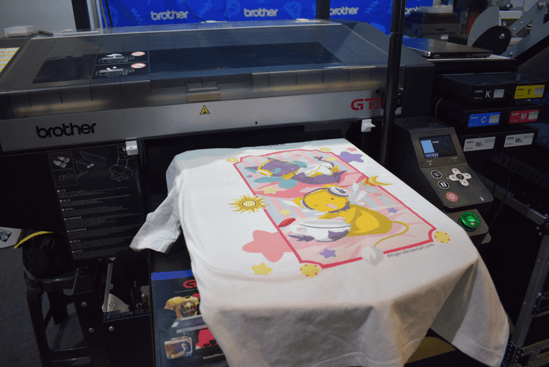 Brother GTX is the company's next gen direct-to-garment printer