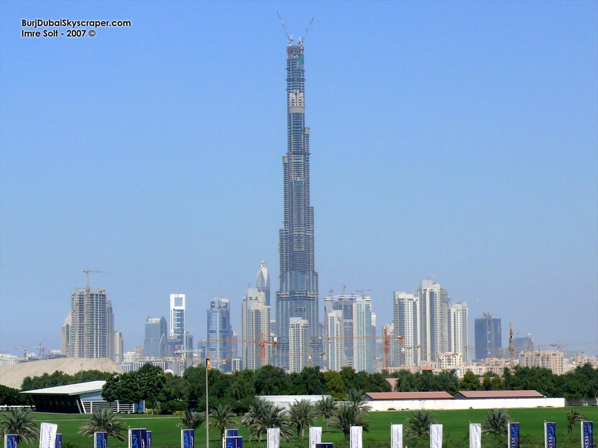 All World Visits Burj Dubai Skyscraper Latest Pictures