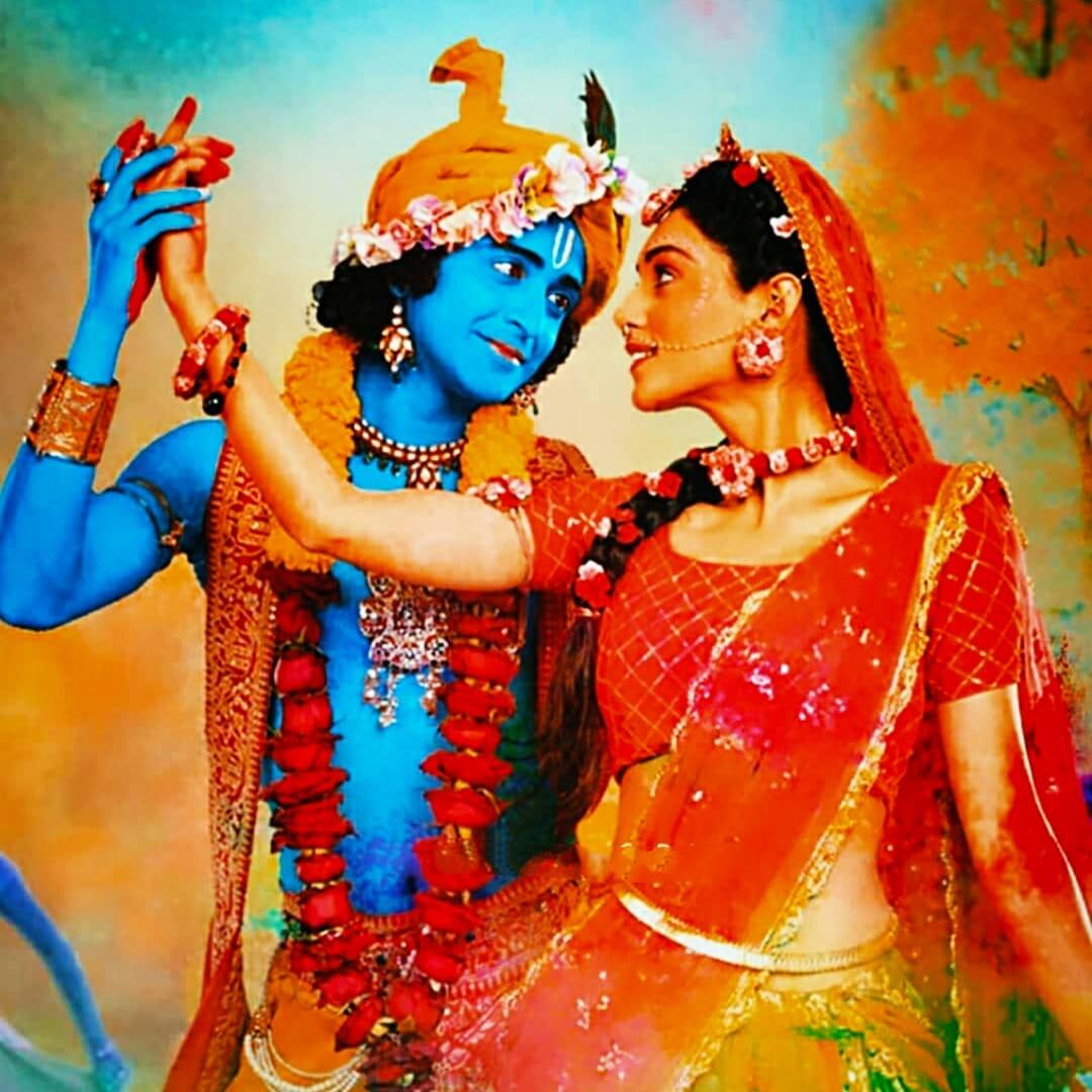 IND 彡Radha Krishna Quote彡 - बुरे कार्य कभी करने नहीं पड़ते,