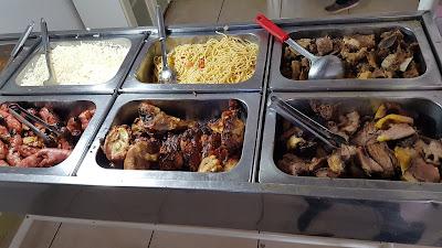 Restaurante do gaúcho buffet livre com carnes assadas
