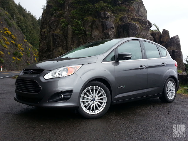 2013 Ford C-Max Hybrid SEL at the coast