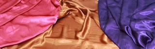 Bahan Tekstil Satin Pembuatan Tas baju dan lainnya