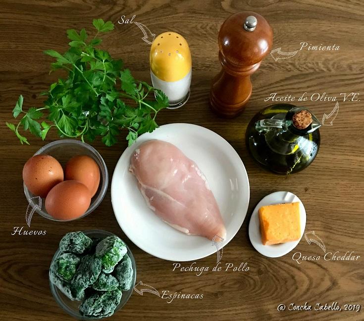 tortilla-pollo-espinacas-cheddar-mise