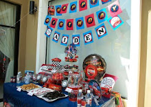 Aiden's Disney Cars 2nd Birthday Party!